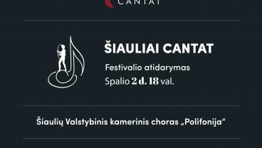 Šiauliai Cantat atidarymo koncertas